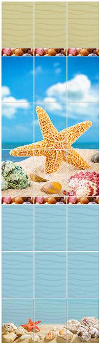 Морская звезда 3D СП