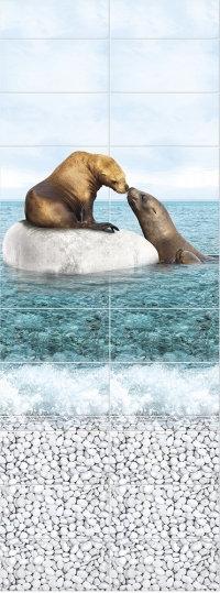 Море панно Тюлени PANDA