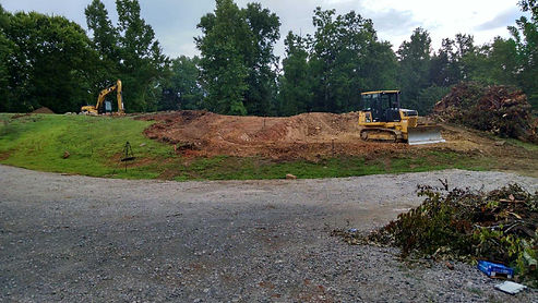 McCrone Excavating's equipment