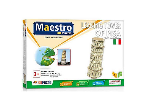 3D  Leaning Tower of Pisa 21TMX