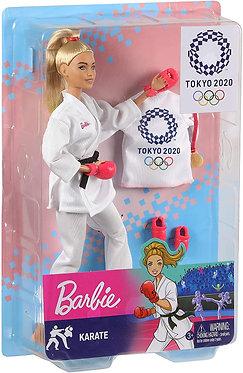 Barbie Καράτε Ολυμπιακοί Αγώνες Tokyo 2020