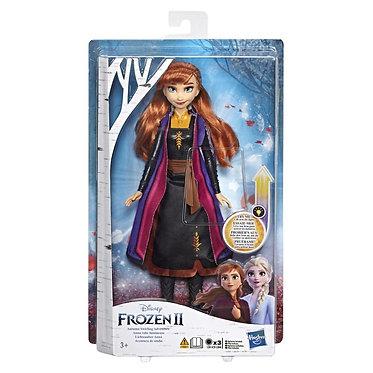 Hasbro Disney Frozen II - Anna Autumn Swirling Adventure Light Up Doll