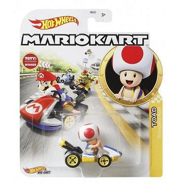 Mattel Hot Wheels: Mario Kart - Toad Standard Kart Die-Cast (GJH63)
