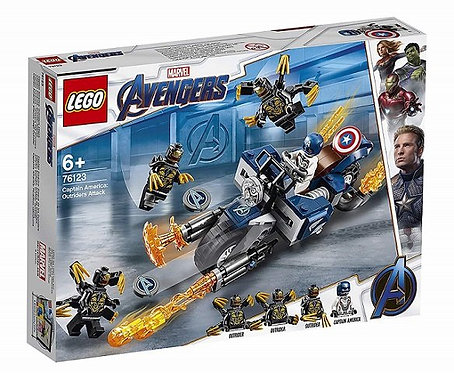 LEGO® Super Heroes: Captain America: Outriders Attack (76123)