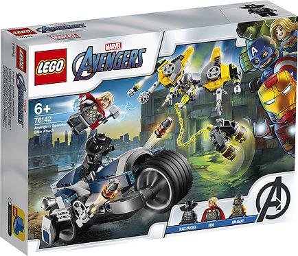 LEGO® Super Heroes: Avengers Speeder Bike Attack (76142)