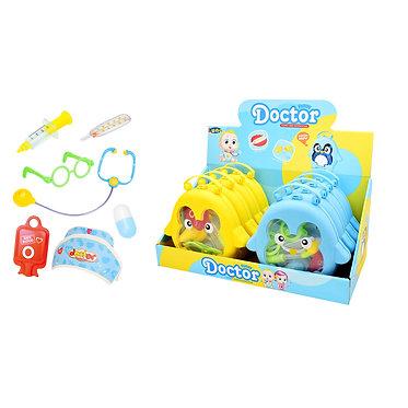 Βαλιτσάκι Ιατρικής Πιγκουίνος Luna Toys. 20x4x20 εκ.