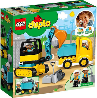 LEGO® DUPLO Town: Truck & Tracked Excavator