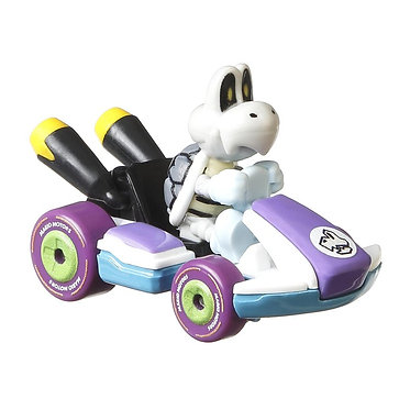 Mattel Hot Wheels: Mario Kart - Dry Bones Standard Kart Die-Cast (GJH59)