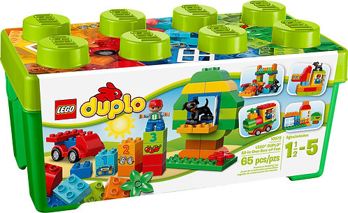 LEGO® DUPLO® Creative Play: All-in-One-Box-of-Fun