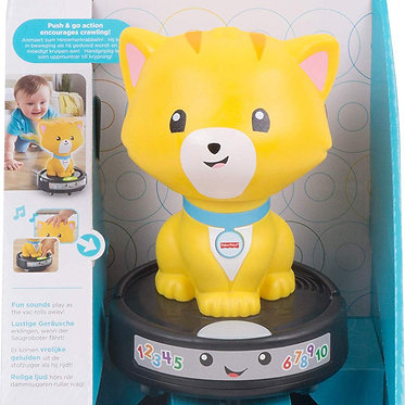 Fisher Price Laugh And Learn - Crawl-after Cat On A Vac (GMX70)