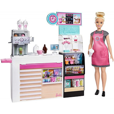 Barbie - Coffee Shop Playset