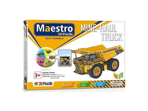 3D  Mine-Haul Truck 68TMX