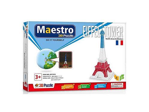 3D  Eiffel Tower 55TMX