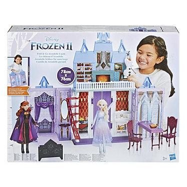 Hasbro Disney: Frozen II - Fold and Go Castle Arendelle Playset (E5511EU4)