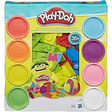 Hasbro Play-Doh: Numbers. Letters n' Fun (21018EU4)
