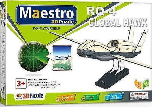 3D ΠΑΖΛ RQ-4 Global Hawk 24ΤΜΧ
