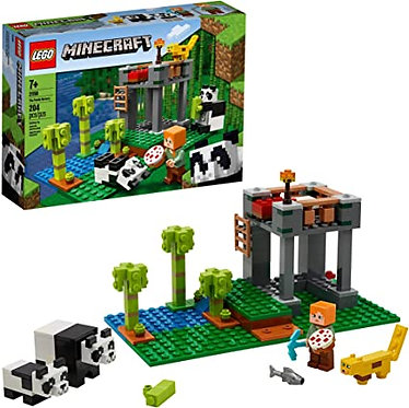 LEGO® Minecraft: The Panda Nursery (21158)
