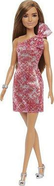 Barbie: Gliter κόκκινο φόρεμα (Mattel GRB33)