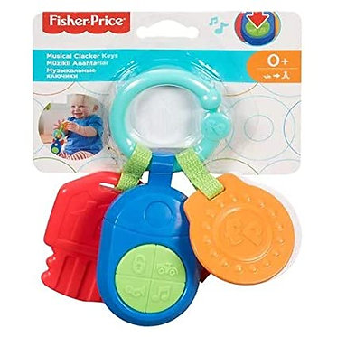 FISHER PRICE - MUSICAL CLACKER KEYS (DFP52)
