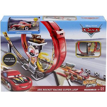 Mattel Disney Cars: Rocket Racing - XRS Rocket Racing Super Loop (GJW44)