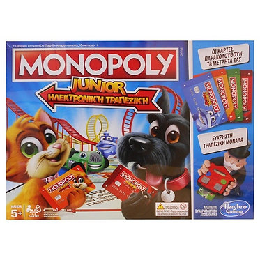 Hasbro Monopoly Junior Ηλεκτρονική Τραπεζική (E1842)