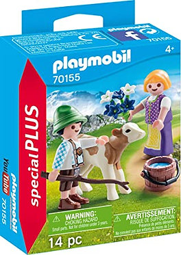 Playmobil® Special Plus - Children With Calf (70155)