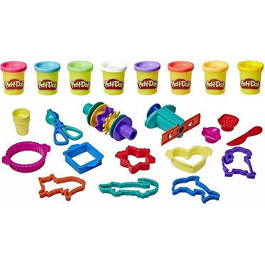 Hasbro Play-Doh - Large Storage Box with 20 Tools (E9099)