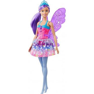 Barbie Νεράιδα μοβ μαλλιά (Mattel GJK00)