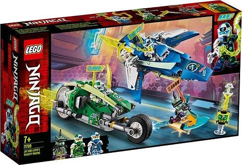 LEGO® NINJAGO®: Jay and Lloyd's Velocity Racers (71709)