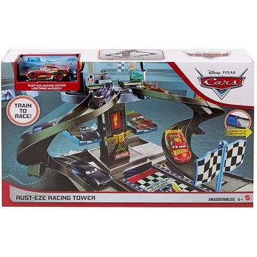 Mattel Disney Cars: Rusteze Racing Tower Garage (GJW42)