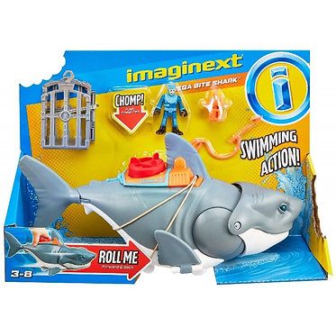 Fisher Price Imaginext: Mega Bite Shark (GKG77)