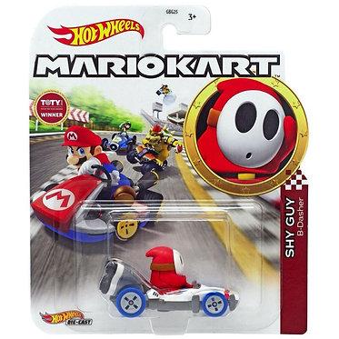 Mattel Hot Wheels: Mario Kart - Shy Guy B-Dasher Die-Cast (GJH61)