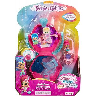 Fisher-Price  Rainbow Zahramay On-the-Go Playset