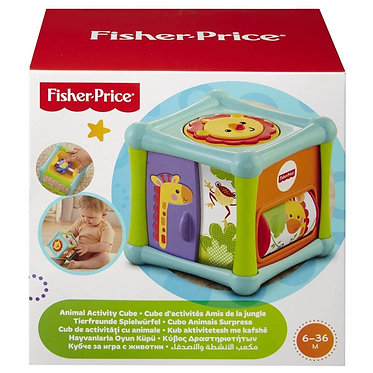 FISHER PRICE - ANIMAL ACTIVITY CUBE (BFH80)