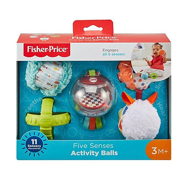 Fisher-Price - Five Senses Activity Balls (FXC32)