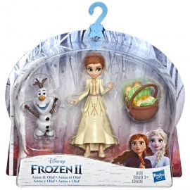 Frozen II - Anna & Olaf Small Dolls