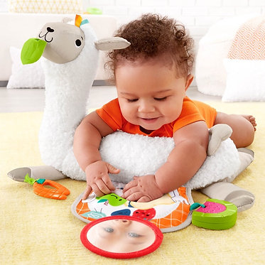 Fisher Price: Grow-with-Me - Tummy Time Llama (FXC36)