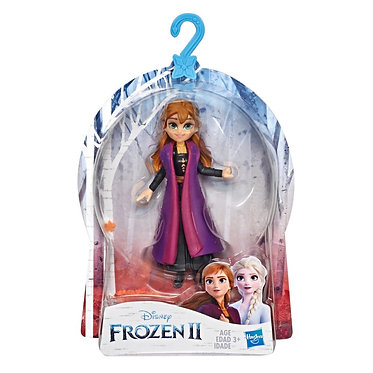 Frozen II - Anna Small Doll With Removable Cape (15cm)
