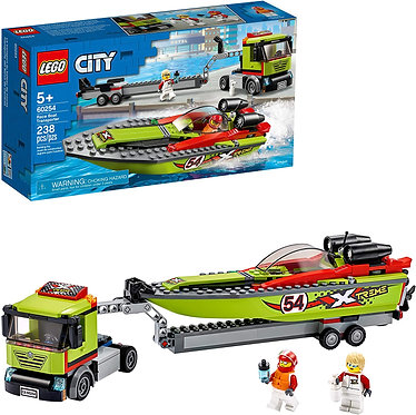 LEGO® City Great Vehicles: Race Boat Transporter