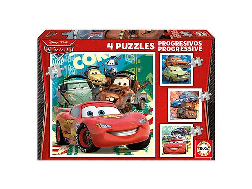 PUZZLE 4  CARS  (12-16-20-25) ΙΣΠΑΝΙΑΣ