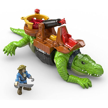 Fisher Price Imaginext: Walking Croc & Pirate Hook (DHH63)