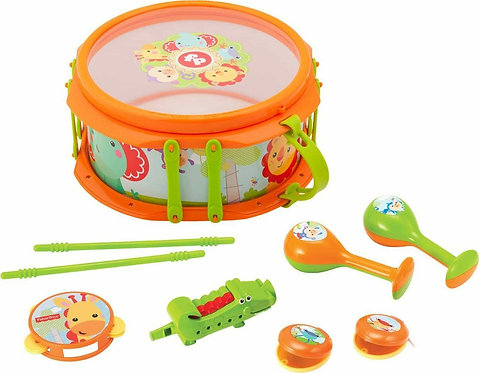 FISHER PRICE - MUSICAL BAND DRUMSET (KFP2136)