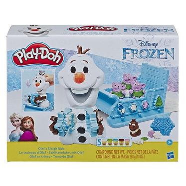 Hasbro Play-Doh: Frozen - Olaf's Sleigh Ride (E5375EU4)