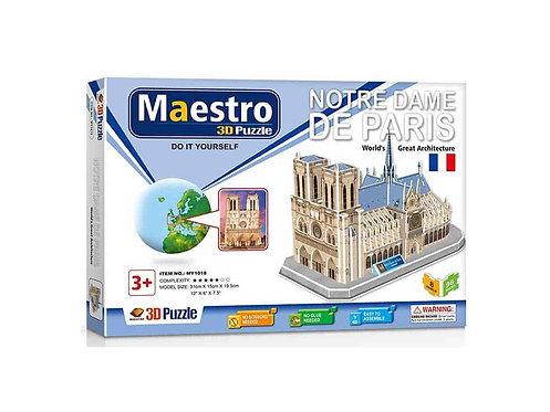 3D  Notre Dame de Paris 96ΤΜΧ