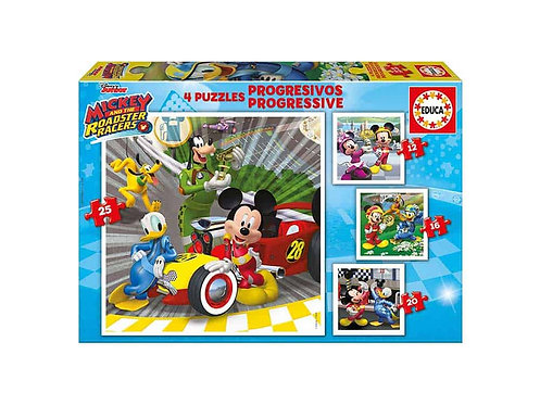 PUZZLE 4 MICKEY(12-16-20-25)ΙΣΠΑΝΙΑ