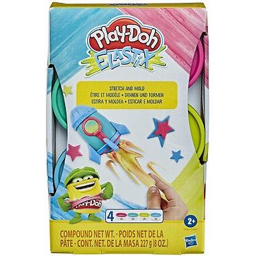 Hasbro Play-Doh Elastix: Stretch and Mold - Bright (E9864)