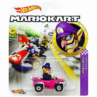 Mattel Hot Wheels: Mario Kart - Waluigi Badwagon Die-Cast (GJH54)