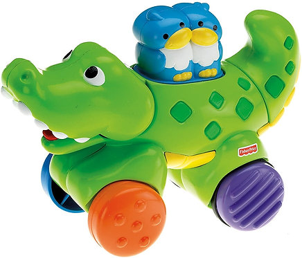 FISHER PRICE - PRESS & GO CROCODILE (N8161)