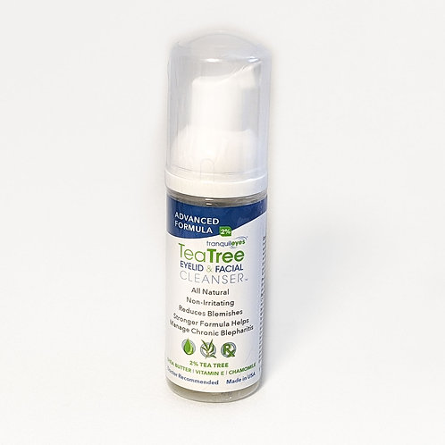 TeaTree Eyelid & Facial Cleanser