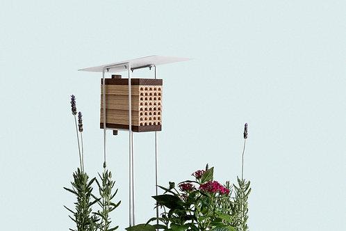 Refugio para abejas solitarias